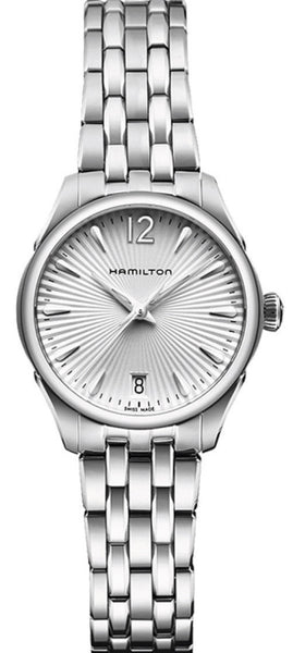 Hamilton Jazzmaster Quartz 30mm Stainless Steel Silver Dial H42211155 Watch