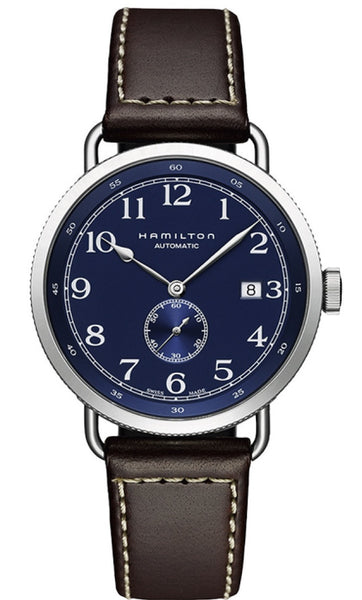 Hamilton Khaki Navy Pioneer Automatic Stainless Steel 40mm Blue Dial H78455543 Watch
