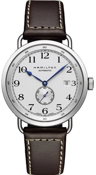 Hamilton Khaki Navy Pioneer Automatic Stainless Steel 40mm White Dial H78465553 Watch