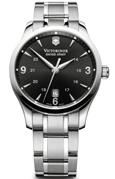 Victorinox Swiss Army Alliance Stainless Steel Black Dial 40mm 241473 Watch