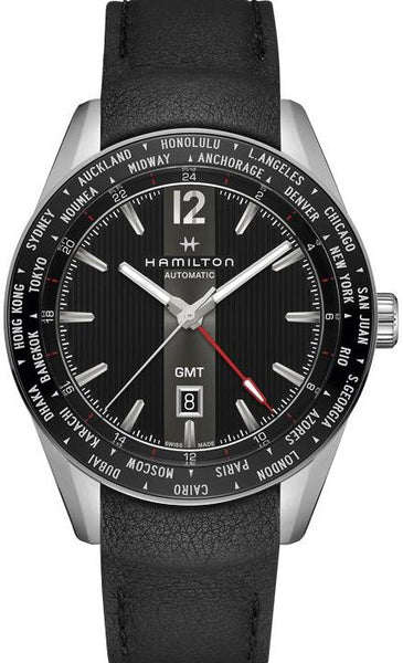 Hamilton Broadway GMT Limited Edition 1 of 2018 Stainless Steel Automatic H4372531Watch