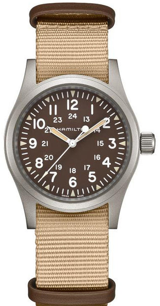 Hamilton Khaki Field Mechanical Brown 38mm H69429901 Watch