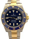 Rolex Submariner 41mm 18K Gold & Steel Dial Box & Papers Watch