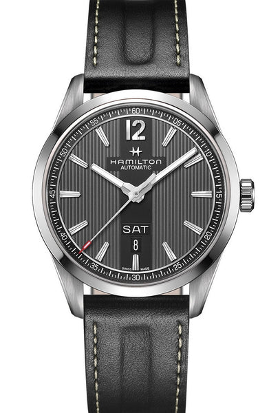 Hamilton Day Date Automatic Day Date Black Dial 42mm H43515735 Watch
