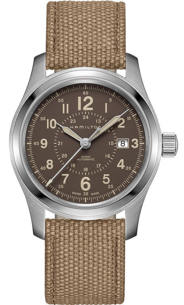 Hamilton Khaki Field Automatic 42mm Stainless Steel Brown Dial H70605993 Watch