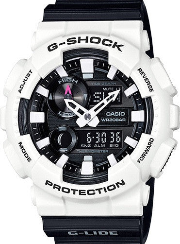 G-Shock Analog-Digital Black & White Resin Strap GAX100B-7ACR Watch