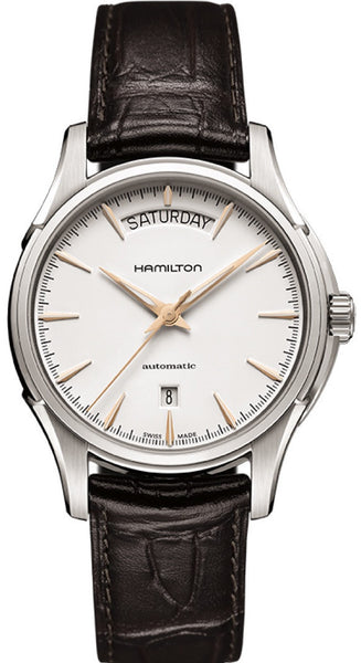 Hamilton Jazzmaster Day Date Automatic Stainless Steel White Dial H32505511 Watch