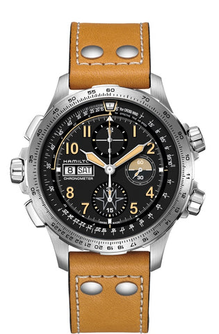 Hamilton Khaki X-Wind Day Date Automatic Chronograph Limited Edition H77796535 Watch