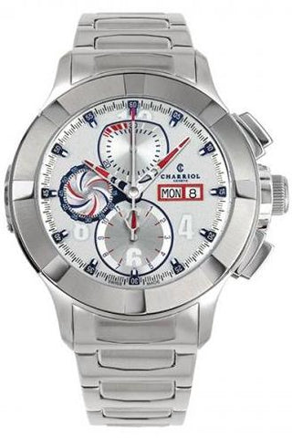 Charriol Gran Celtica Chrono Automatic 46mm Steel Watch