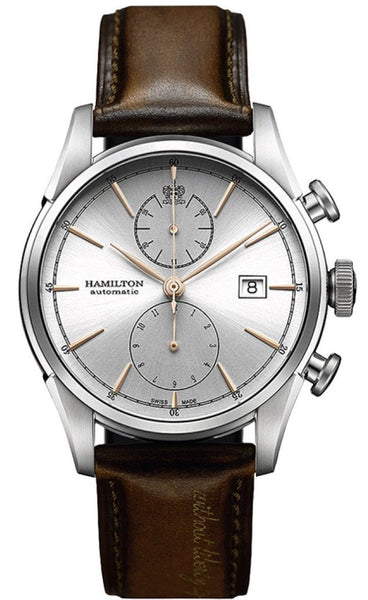 Hamilton Spirt of Liberty Chronograph Automatic Stainless Steel 42mm H32416581 Watch