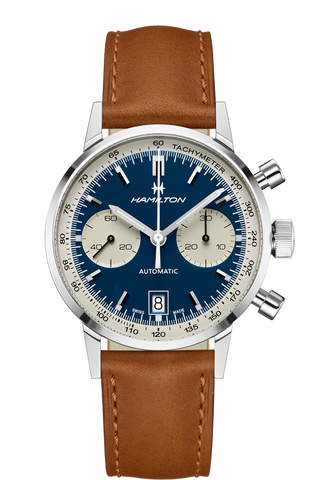 Hamilton Intra-Matic 68 Automatic Chronograph 40mm Blue Dial H38416541 Watch