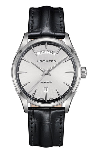 Hamilton Jazzmaster Day Date Automatic Stainless Steel Silver Dial 40mm H42565751 Watch