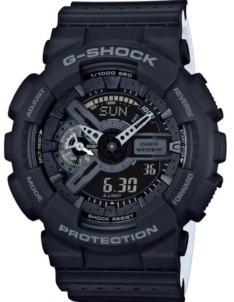 G-Shock Analog Digital Matte Black Resin Strap GA110LP-1A Watch