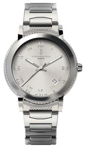 Charriol Parisii Stainless Steel Quartz 40mm Watch