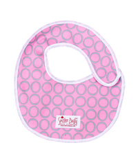 Smitten Baby Mess Guard Bib - Waterproof Reusable Baby Bibs, New Born Baby Bibs