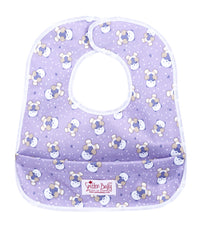 Smitten Baby Crumb Catcher Bibs - Pocketed Baby Bibs, Waterproof & Reusable Baby Bibs with a Pocket