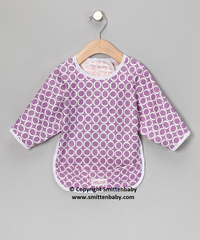 Smitten Baby  Make-a-Mess Bibs - Full Body Cover Baby Bib with Sleeve, Pocket, Waterproof & Reusable Pocket Bib,