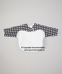 Sleeved Crumb Bib by Generation Baby