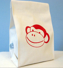 Delish Cotton Lunch Bag by Blue Celery