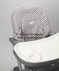 Smitten Baby Cover it High Chair Cover - Made In Canada Waterproof Cushioned High Chair Cover