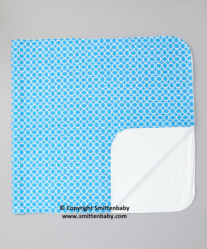 "Smitten Baby Make-a-Mess Mat, Regular 28""x58"" & Large 35""x58"" - Made In Canada Waterproof Two Layers Play Mat, Reusable Mat"