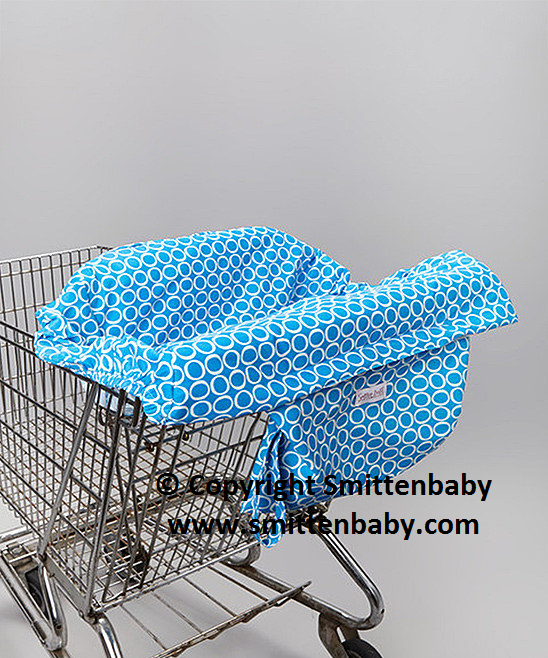 Smitten Baby  Shop it  Eat It Shopping Cart & Restaurant High Chair Cover, Shopping Cart Cover