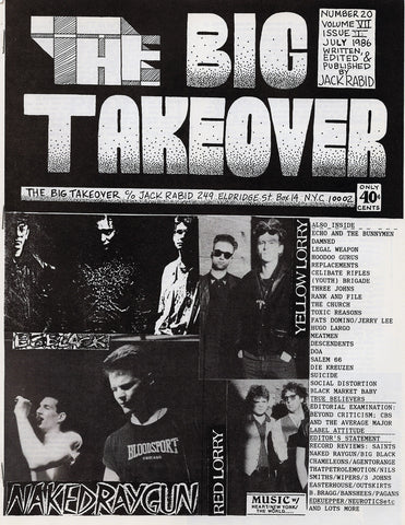 Big Takeover: Issue No. 20-22, 1986-1987
