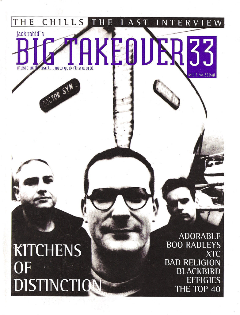 Big Takeover: Issue No. 33 1993