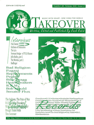 Big Takeover: Issue No. 30 1991
