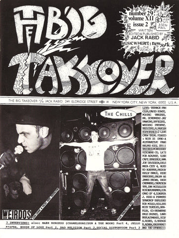 Big Takeover: Issue No. 29 1990