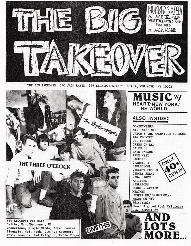 Big Takeover: Issue No. 16-19, 1984-1986