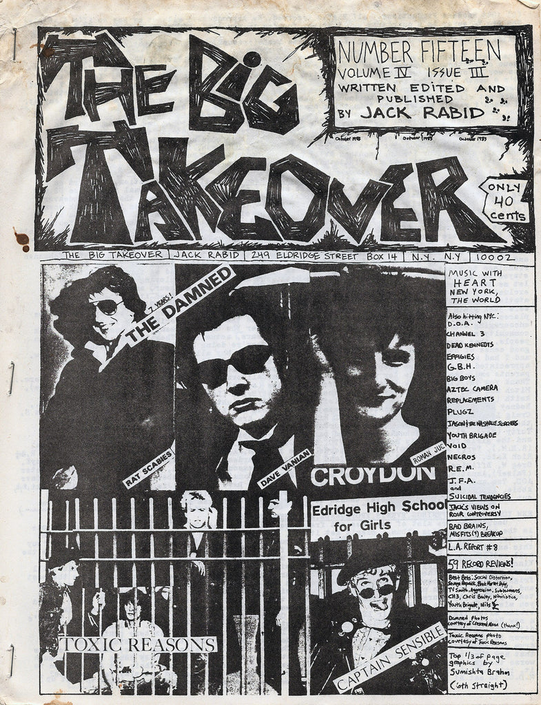 Big Takeover: Issues No. 12-15, 1982-1983