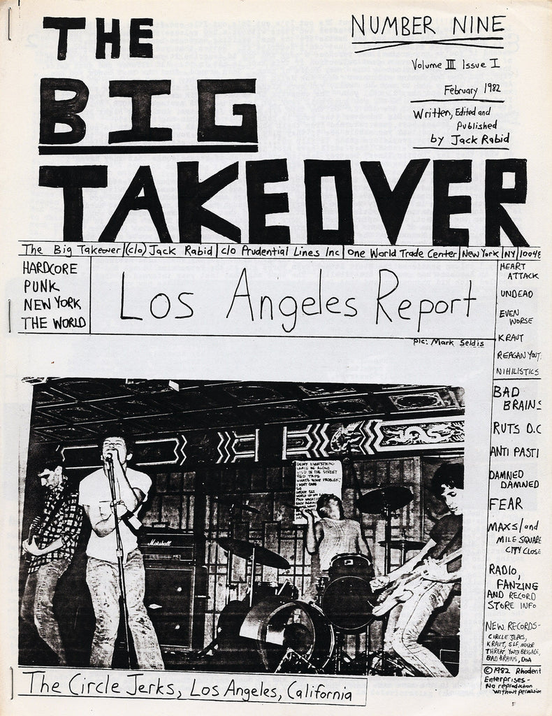 Big Takeover: Issues No. 9-11, 1982