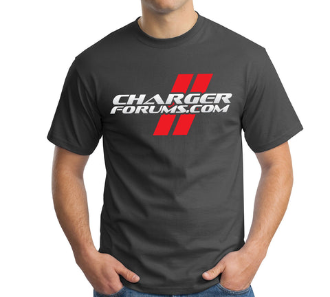 ChargerForums.com Black T-Shirt