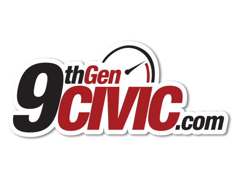 9thGenCivic.com Decals (set of 2)