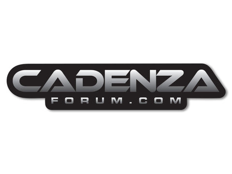 CadenzaForum.com Decals (set of 2)