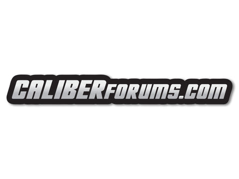 CaliberForums.com Decals (set of 2)