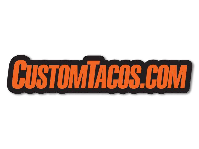 "CustomTacos.com 8"" Decals (set of 2)"
