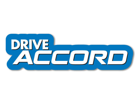 Drive Accord Decals (set of 2)