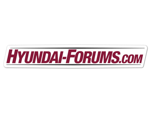 Hyundai-Forums.com Decals (set of 2)