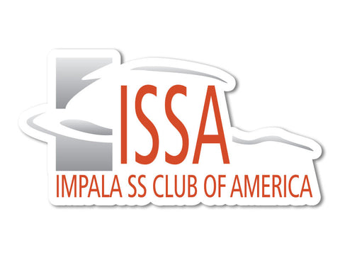 Impala SS Club Decals (set of 2)