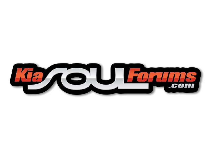 KiaSoulForums.com Decals (set of 2)