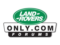 LandRoversOnly.com Decals (set of 2)