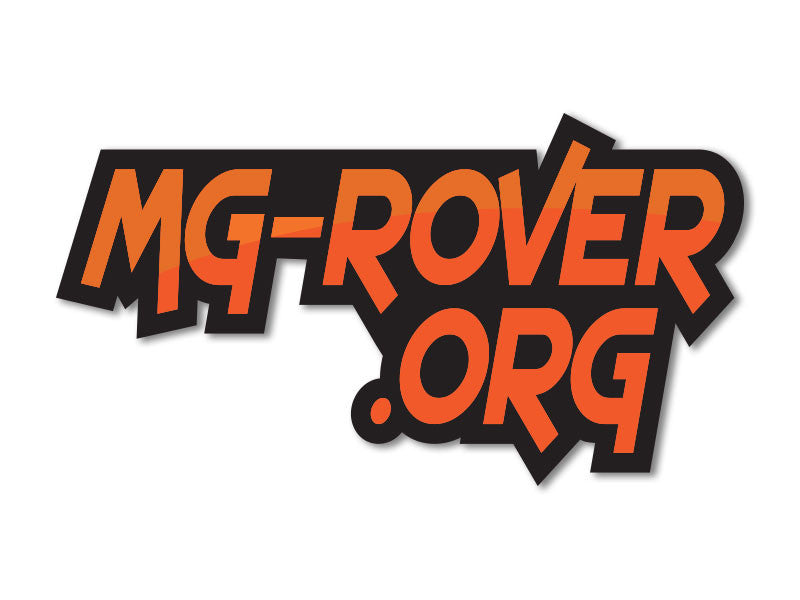 MG-Rover.org Decals  (set of 2)