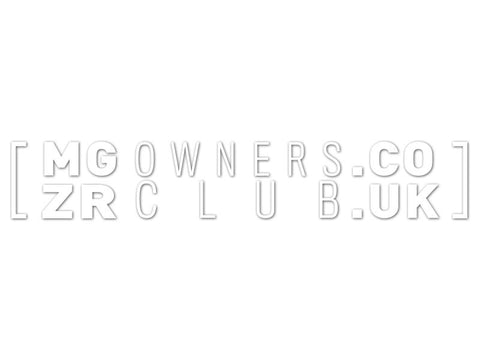 MGZROwnersClub Cut Vinyl Decals (set of 2)