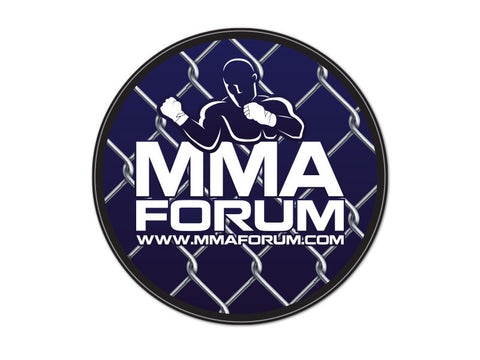 MMAForum.com Decals (set of 2)