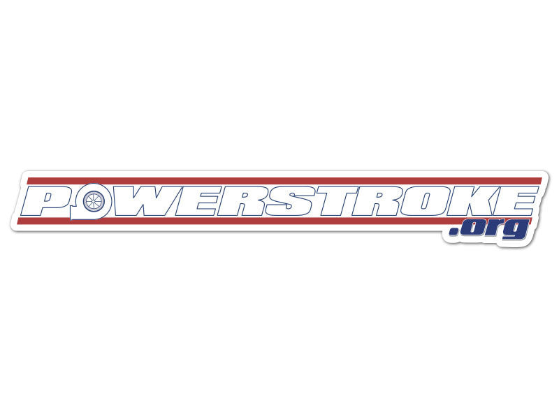 Powerstroke.org Vintage Decals (set of 2)