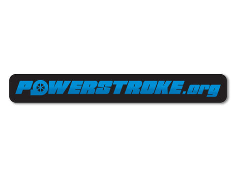 New Powerstroke Decals (set of 2)