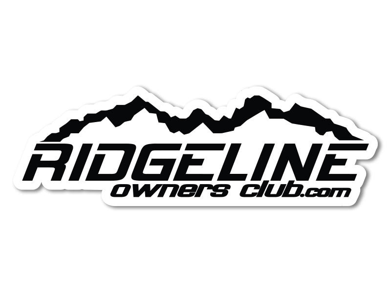RidgelineOwnersClub.com Decals (set of 2)