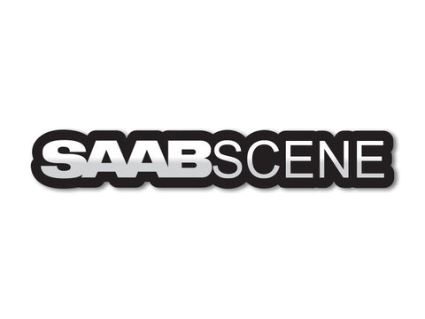 Saab Scene Decals (set of 2)
